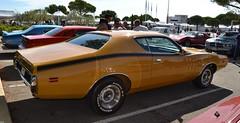 DODGE Charger Super Bee (3ème génération) - 1971 (SASSAchris) Tags: dodge charger super bee superbee 3ème génération 3èmegénération 10000 10000toursducastellet tours castellet circuit ricard httt htttcircuitpaulricard htttcircuitducastellet voiture américaine musclecar