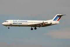 F-GPXF (PlanePixNase) Tags: paris orly ory lfpo aeroport aircraft airport planespotting britair airfrance fokker 100 f100