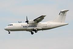 F-GVZZ (PlanePixNase) Tags: paris orly ory lfpo aeroport aircraft airport planespotting airlinair atr atr42 42 airfrance