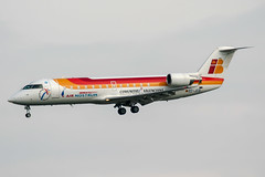EC-JCO (PlanePixNase) Tags: paris orly ory lfpo aeroport aircraft airport planespotting iberia airnostrum canadair crj200 crj crj2