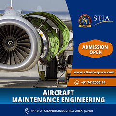 Top Aircraft Maintenance Engineering College in Jaipur (St Institute Of Aernuatics) Tags: aircraft airworthy airlines airport aeronautics aviation