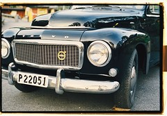 Volvo PV 544 at Galejan, Skansen (John_Lundhgren) Tags: k1000 pentax film kodak volvo pv544