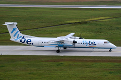 G-JECG (PlanePixNase) Tags: aircraft airport planespotting haj eddv hannover langenhagen flybe dash8 dh4