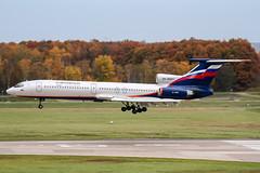 RA-85811 (PlanePixNase) Tags: aircraft airport planespotting haj eddv hannover langenhagen aeroflot tupolev tu154