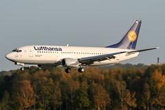 D-ABXS (PlanePixNase) Tags: aircraft airport planespotting haj eddv hannover langenhagen boeing 737 737500 b735 lufthansa
