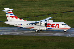OK-KFO (PlanePixNase) Tags: aircraft airport planespotting haj eddv hannover langenhagen csa czechairlines atr atr42 42 at4