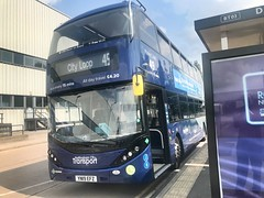 Nct 488 Navy Line 49 (Snape Bus Pics) Tags: enviro400 alexanderdennis scania yn19efz 488 navyline49 nottinghamcitytransport nct
