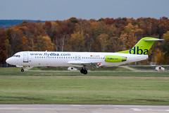 D-AGPD (PlanePixNase) Tags: aircraft airport planespotting haj eddv hannover langenhagen dba deutscheba fokker 100 f100