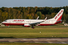 D-ABBE (PlanePixNase) Tags: aircraft airport planespotting haj eddv hannover langenhagen airberlin boeing 738 737800 737