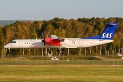 LN-RDJ (PlanePixNase) Tags: aircraft airport planespotting haj eddv hannover langenhagen sas scandinavian dash8 dh4