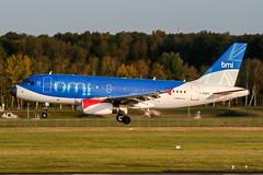 D-DBCD (PlanePixNase) Tags: aircraft airport planespotting haj eddv hannover langenhagen bmi british midland airbus 319 a319