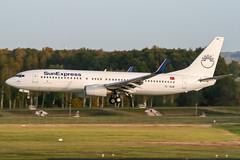 TC-SUM (PlanePixNase) Tags: aircraft airport planespotting haj eddv hannover langenhagen sunexpress boeing 737 738 737800