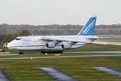 UR-82073 (PlanePixNase) Tags: aircraft airport planespotting haj eddv hannover langenhagen antonovairlines antonovdesignbureau antonov an124 124