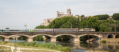 Intercity rail travel as it should be. (Chris Firth of Wakey.) Tags: nezcassé beziers sncf107277 107277 bb7200