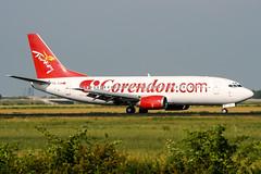 TC-TJA (PlanePixNase) Tags: amsterdam ams eham schiphol planespotting airport aircraft corendon boeing 737 b733 737300