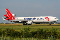 PH-MCT (PlanePixNase) Tags: amsterdam ams eham schiphol planespotting airport aircraft martinair cargo md11 md11f mcdonnell douglas