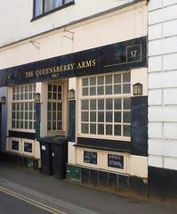 Queensbury Arms, Teignmouth. (piktaker) Tags: devon teignmouth pub inn bar tavern publichouse queensburyarms closedpub