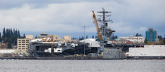 USS Nimitz (CVN-68) Aircraft Carrier (Niall McCormick) Tags: uss nimitz cvn68 aircraft carrier us navy bremerton warship