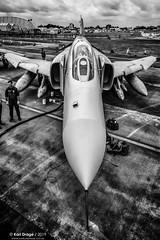"38+50 - McDonnell Douglas F-4F Phantom II - JG71 ""Richthofen"", Luftwaffe (KarlADrage) Tags: 3850 mcdonnelldouglasf4fphantomii f4phantom jg71 richthofen luftwaffe germanairforce egva ffd riat raffairford riat2010 royalinternationalairtattoo blackandwhitebw"