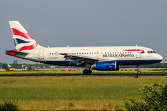 G-EUPK (PlanePixNase) Tags: amsterdam ams eham schiphol planespotting airport aircraft british britishairways airbus 319 a319