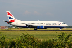G-DOCB (PlanePixNase) Tags: amsterdam ams eham schiphol planespotting airport aircraft british britishairways boeing 737 737400 b734