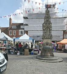 Saffron Walden , Essex . (AndrewHA's) Tags: essex saffronwalden market day
