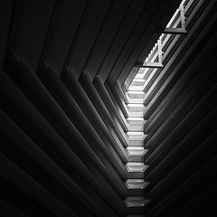 Light Layers (Dan Portch) Tags: san francisco hotel lobby grand hyatt regency mono monochrome moody dark black white bw minimal square street architecture building fineart photography interior