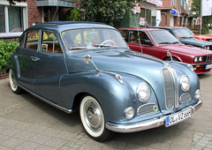 501 (Schwanzus_Longus) Tags: stuhr brinkum german germany old classic vintage car vehicle sedan saloon bmw 501 v8