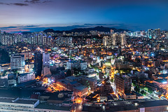 Seoul Blue Hour
