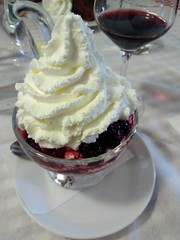 IMG_20190711_130545 (Puntin1969) Tags: telefonino vacanze luglio trentino montagna altavaldifiemme fiemme pranzo dolce vino