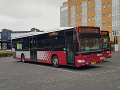 NLD Qbuzz 3160 ● Groningen Busstation (Roderik-D) Tags: bxfv56 3160 qbuzz31003301 zomerbroezzn groningenstation mercedesbenz 2009 bege savas euro5 ivu streekbus 2doors 2axle dieselbus gorba überlandbus citaro2 o530ü
