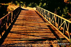 The old wooden bridge. (Elias Chris) Tags: karytaina arcadia arkadia arcadiagreece αρκαδία ελλάδα μεγαλόπολη wooden woodenbridge bridge greece gortynia gortyniaarcadia