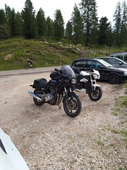 IMG_20190708_094551 (Puntin1969) Tags: telefonino vacanze luglio trentino montagna altavaldifiemme fiemme moto