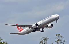 Turkish Airlines, TC-LJK, Boeing 777-3F2/ER at NRT (tokyo70) Tags: japan travel tour turkishairlines 777