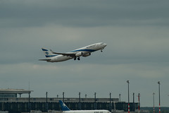 Berlin SXF 16.7.2019 EL AL Boeing 737 (rieblinga) Tags: berlin sxf 1672019 start boeing 737 elal israel schönefeld