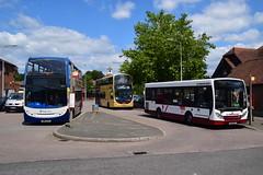 15772 GN61EVV, 429 BF12KXH & 4101 GX57AFV (Ary_Art) Tags: brightonandhove brightonandhovebuses stagecoach stagecoachbuses