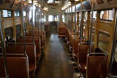 DSC_0335 (Andy961) Tags: pittsburgh pennsylvania pa railways streetcar tram trolley lrv pcc slc interior seats museum museums