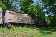 Cooperstown Junction Revisit 6 (rchrdcnnnghm) Tags: abandoned railroad train delawareandhudsonrailroad cooperstownjunctionny rustyandcrusty engine electric gg1 pennsylvaniarailroad penncentralrailroad conrail