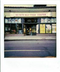 Nu Rite Way FC (Robert Drozda) Tags: portland oregon boiseneighborhood mississippiavenue store nuritewayfoodcenter grocery polaroid instant drozda