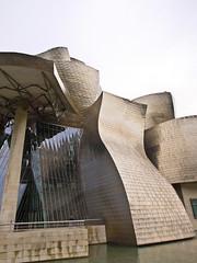 Futuristisch / Futuristc # 25 (schreibtnix on'n off) Tags: reisen travelling europa europe spanien spain bilbao gebäude building guggenheimmuseum frankogehry futuristisch futuristc olympuse5 schreibtnix