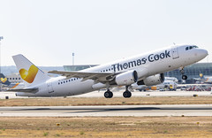 YL-LCL Airbus A320-200 Thomas Cook Airlines opb SmartLynx PMI 2019-07-02 (5a) (Marvin Mutz) Tags: yllcl thomas cook airlines smartlynx airbus a320200 pmi aviation planespotting avgeek aircraft airplane aeroplane plane pilot cockpit crew passenger travel transport jet jetliner airline airliner wings engines airport runway taxiway apron clouds sky flight flying takeoff departure lepa palma mallorca majorca spain