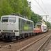Bonn Oberkassel Rail Adventure 111 215 overbrenging DD rijtuig