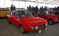 Lancia Fulvia coupé HF (baffalie) Tags: auto voiture ancienne vintage classic old car coche retro expo italia sport automobile racing motor show collection club course circuit italie padoue fiera