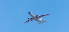 Retrojet Approach (sbisson) Tags: retrojet britishairways bea ba britisheuropeanairways airbus a319 london heathrow livery ba100 sky summer putney