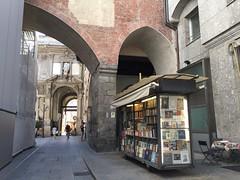 Old book stall (Lina (Prema) Polmonari) Tags: milano italy book libri stall bancarella