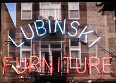 Lubinski (William 74) Tags: wickerpark chicago neon neonsign advertising reflection