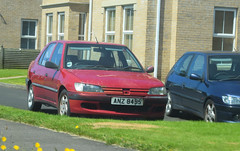 1997 Peugeot 306 Sldt Sedan (>Tiarnán 21<) Tags: peugeot 306 sldt car road rare red