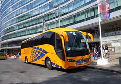 UK - Pontefract coach (onewayticket) Tags: windmill windmillcommunitytransport rosstravelgroup volvo b11r volvob11r sunsundegui sc7 sunsundeguisc7 bk13nzj coach bus transport urban