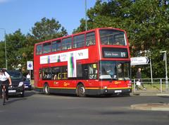 GAL PVL284 - PJ02RCU - ERITH ROAD BEXLEYHEATH - TUE 16TH JULY 2019 (Bexleybus) Tags: goahead go ahead london plaxton president volvo b7tl pvl284 pj02rcu erith road bus garage depot bx bexleyheath kent da7 tfl route 89