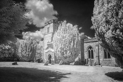 St. Mary's Church, Pitstone (revisited) (Biff_Brown) Tags: church pitstone infrared samyang samyang12mmf2ncscsmft ir950 affinityphoto panasonicg6